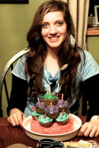 Our first born daughter - Bronwyn turned 14.  We have her under lock and key:)