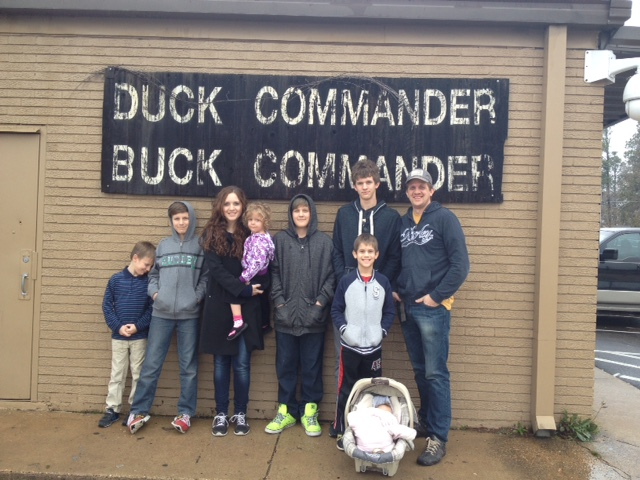 "We didn't get to see any cast members (or duck hunters, whatever they are these days), but was worth a quick stop.. Noah exclaimed as we pulled up, ""The Duck Dynasty is real?"""