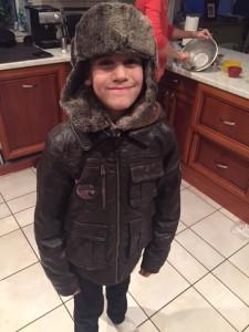 Clark ready for winter!