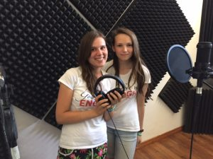 Anya and Elena from Minsk, amazing singers and very creative talents.