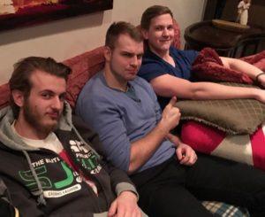 Vlad, Max, and Brent at Club 180 this week.